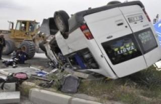 Kahramanmaraş'ta Kaza: 16 Yaralı