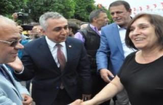 Selvi Kılıçdaroğlu Nazilli'de