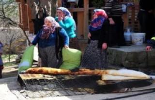 Tokat'ta Tek Katlı Evde Yangın Paniği