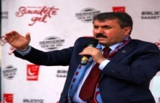 Trabzon'da Milli İttifak Mitingi