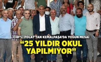 CHP'li Polat'tan Kemalpaşa'da yoğun mesai