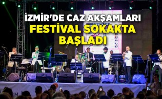 İzmir'de caz akşamları