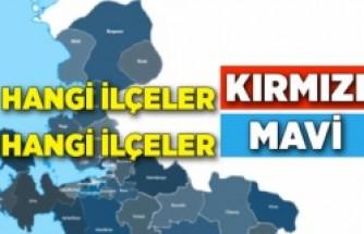 İzmir'in koronavirüs haritası güncellendi! Endişe verici görüntü