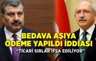 Bakan Koca'dan Kılıçdaroğlu'na 'bedava aşı' yanıtı