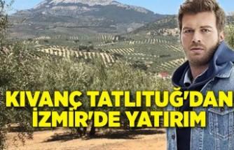 Kıvanç Tatlıtuğ'dan İzmir'de yatırım