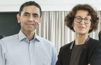 Uğur Şahin ve Özlem Türeci'ye Almanya'dan liyakat nişanı