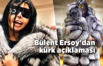 Bülent Ersoy'dan kürk açıklaması