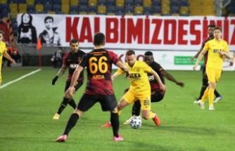 Galatasaray 8 maç sonra kaybetti
