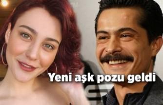 İsmail Hacıoğlu ve Merve Çağıran'dan aşk pozu