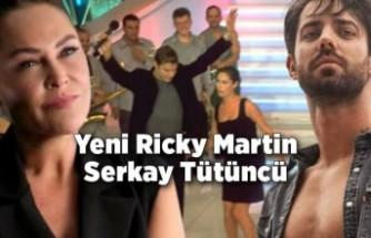 Serkay Tütüncü istedi Hülya Avşar poposuna vurdu