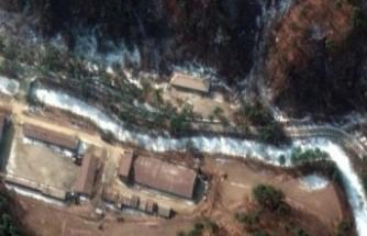 Yeni nükleer tesisleri uydudan görüntülendi