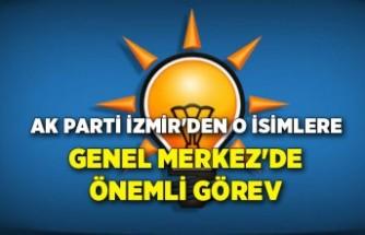 AK Parti İzmir'den o isimlere Genel Merkez'de önemli görev