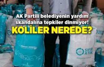 AK Partili belediyenin yardım skandalına tepkiler dinmiyor! Koliler nerede?