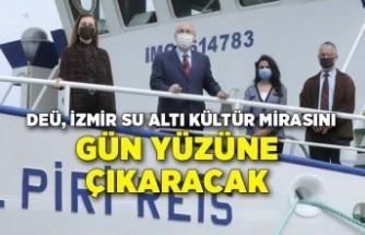 DEÜ, İzmir su altı kültür mirasını gün yüzüne çıkaracak