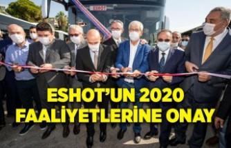 ESHOT'un 2020 faaliyetlerine onay