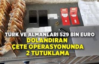 İzmir'deki çete operasyonunda 2 tutuklama