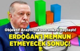 Objektif Araştırma son anketi paylaştı! Erdoğan'ı memnun etmeyecek sonuç!