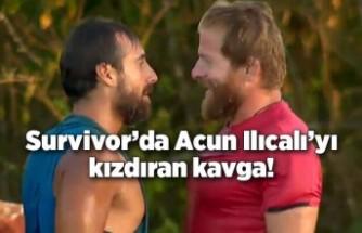 Survivor'da İsmail-Dora kavgası! Acun Ilıcalı da kızdı