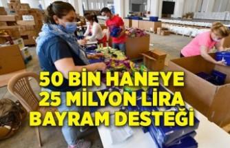50 bin haneye 25 milyon lira bayram desteği