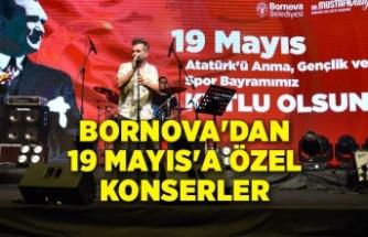 Bornova'dan 19 Mayıs'a özel konserler