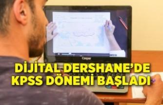 Dijital Dershane'de KPSS dönemi başladı