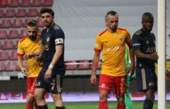Fenerbahçe galibiyetle bitirdi: 1-2