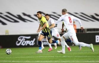 Fenerbahçe - Sivasspor maç sonucu: 1-2