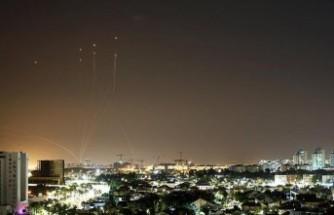 Hamas, Tel Aviv'e 130 roket fırlattı