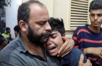 İsrail'den Gazze'ye saldırı: 9'u çocuk24 Filistinli hayatını kaybetti