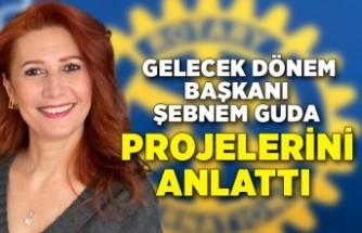 Karşıyaka Rotary'de Şebnem Guda'dan yeni projeler
