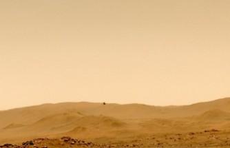 'Mars helikopterinin' sesleri kayda alındı
