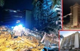 ABD'de 12 katlı bina çöktü