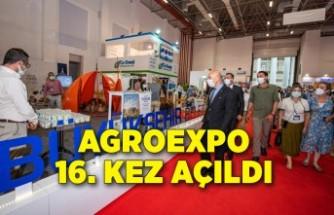 Agroexpo 16. kez açıldı