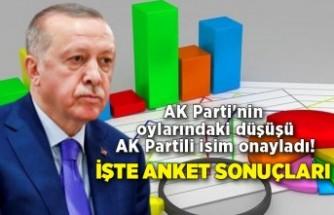 AK Parti'nin oylarındaki düşüşü AK Partili isim onayladı! İşte anket sonuçları