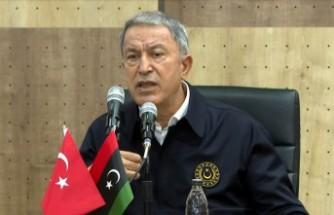 Bakan Akar'dan 'Libya' açıklaması