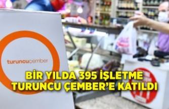 Bir yılda 395 işletme Turuncu Çember'e katıldı