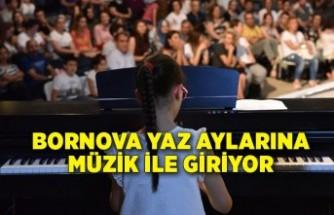 Bornova yaz aylarına müzik ile giriyor