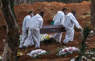 Brezilya'da virüs ölümleri yarım milyonu geçti