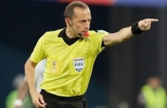 Cüneyt Çakır, Macaristan-Portekiz maçını yönetecek