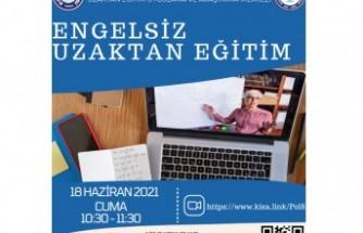 """Ege'de """"Engelsiz Uzaktan Eğitim"""" semineri düzenlenecek"""