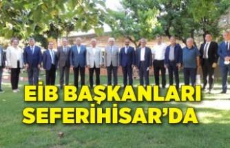 Ege İhracatçı Birlikleri Başkanları Seferihisar'da
