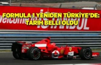 Formula 1 yeniden Türkiye'de: Tarih belli oldu