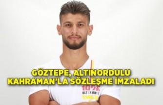 Göztepe, Altınordulu Kahraman'la sözleşme imzaladı
