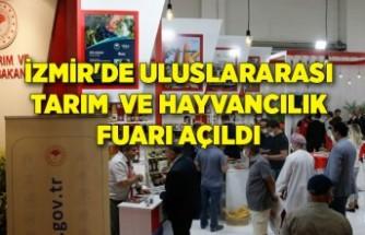 İzmir'de Uluslararası Tarım ve Hayvancılık Fuarı açıldı