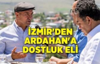 İzmir'den Ardahan'a dostluk eli