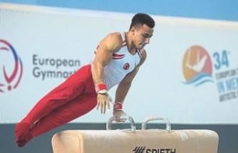 İzmir'in cimnastikteki olimpiyat umudundan 3 madalya