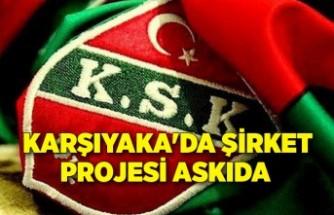 Karşıyaka'da şirket projesi askıda