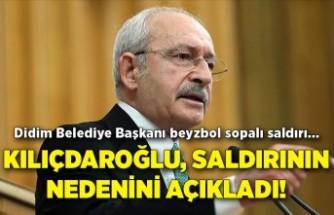Kılıçdaroğlu, o saldırının nedenini açıkladı!