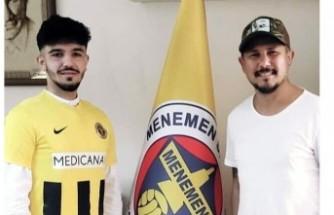 Menemenspor'da Furkan imzaladı