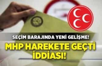 'MHP seçim barajı ile ilgili harekete geçti' iddiası!